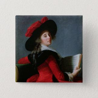 La Baronne de Crussol, 1785 Button