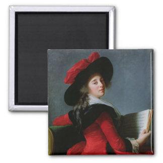 La Baronne de Crussol, 1785 Magnet