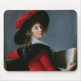La Baronne de Crussol, 1785 Mouse Pads