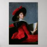 La Baronne de Crussol, 1785 Poster