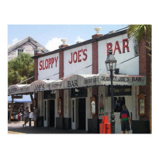 La barra de Joe descuidado Postales