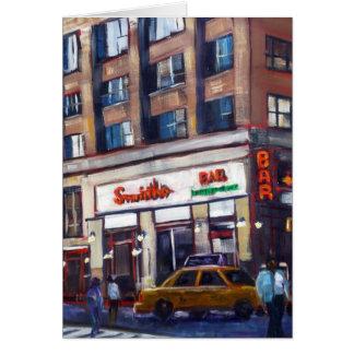 La barra de Smith, New York City Tarjeta De Felicitación