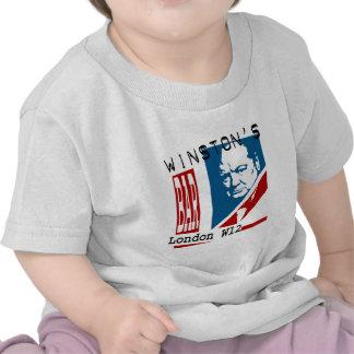 La barra de Winston Camisetas