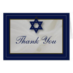 La barra elegante Mitzvah de la tela le agradece c Felicitación