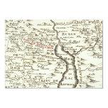 La barra Mitzvah de Benjamin del mapa de la Anuncios