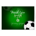 La barra Mitzvah del fútbol de PixDezines agradece Tarjeta Pequeña