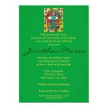 La barra Mitzvah invita - al oasis Hamsa del Invitaciones Personalizada
