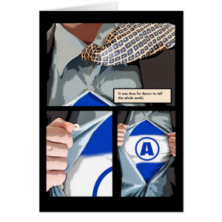 La barra nueva gráfica Mitzvah le agradece tarjeta