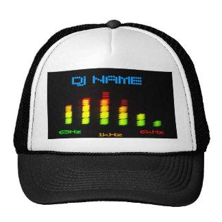 La barra personal EQ del equalizador de DJ - añada Gorro De Camionero