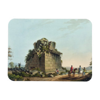 La base de una columna colosal cerca de Syracuse,  Imanes Rectangulares