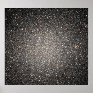 La base del Centauri de Omega globular del racimo Impresiones
