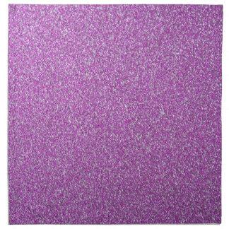 La base púrpura de las chispas añade sus los servilletas imprimidas