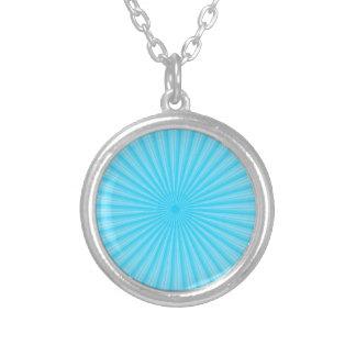 La base radial azul añade sus propios elementos colgante redondo