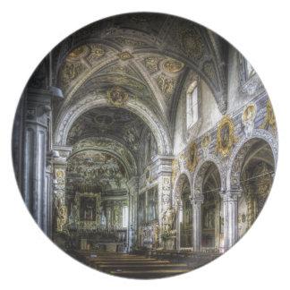 La basílica de San Jorge Plato De Cena