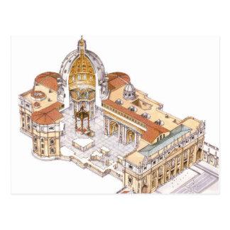 La basílica de San Pedro. Ciudad del Vaticano Tarjetas Postales