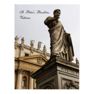 La basílica de San Pedro, Vatican Postales