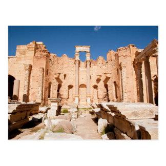 La basílica de Severan, Leptis Magna, Al Khums 2 Postal