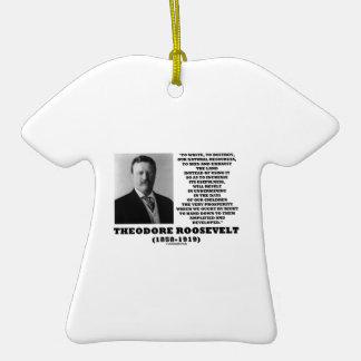 La basura de Theodore Roosevelt destruye recursos