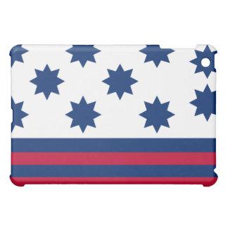 La batalla americana de la bandera del tribunal de