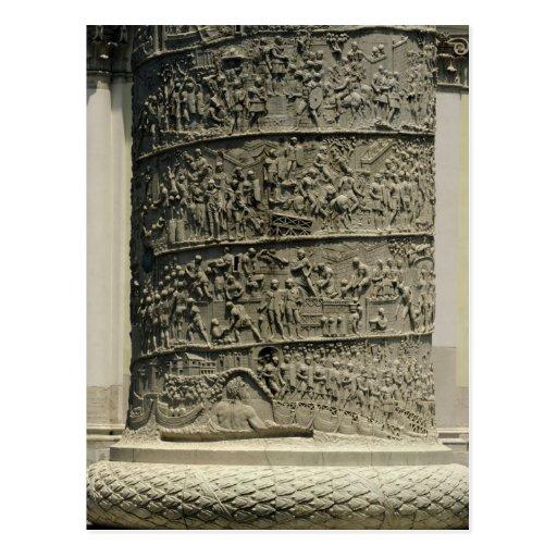 La batalla contra Dacians, detalle Trajan Tarjeta Postal
