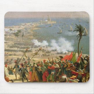 La batalla de Aboukir, el 25 de julio de 1799 Alfombrillas De Raton
