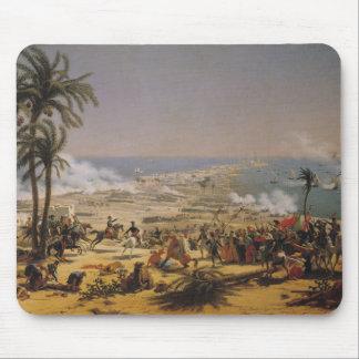 La batalla de Aboukir, el 25 de julio de 1799 Tapete De Ratones