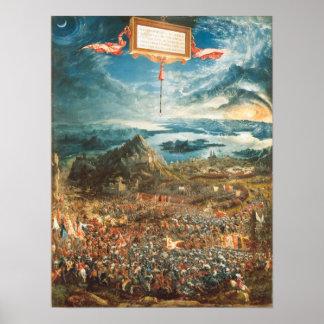 La batalla de Alexander en Issus Impresiones