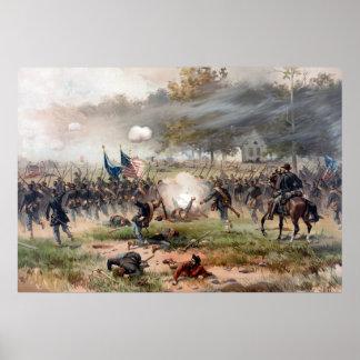 La batalla de Antietam -- Guerra civil Poster