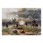 La batalla de Antietam Póster