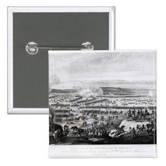 La batalla de Austerlitz en Moravia Pin Cuadrado