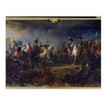 La batalla de Austerlitz Postal