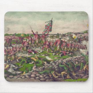 La batalla de Belmont en la guerra británica 1899  Tapetes De Ratones