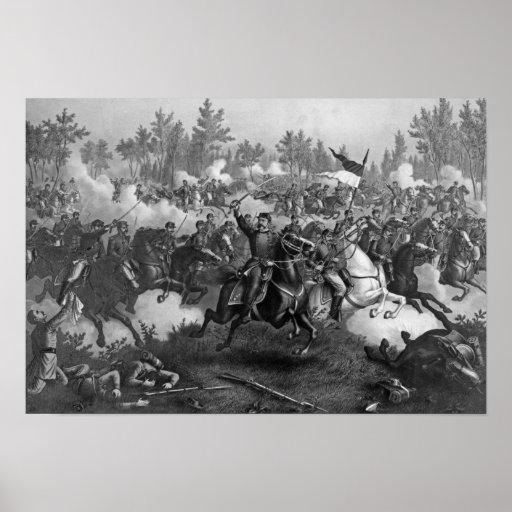 La batalla de Cedar Creek Poster