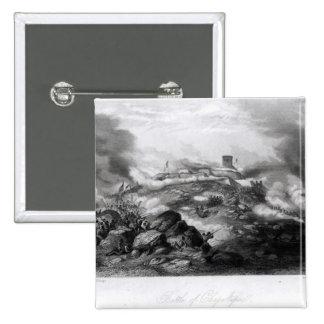 La batalla de Chapultepec Pin Cuadrada 5 Cm