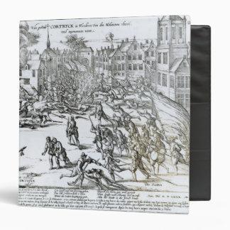 La batalla de Courtrai entre el francés
