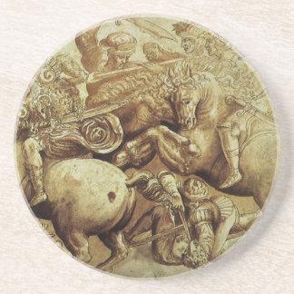 la batalla de da Vinci de Anghiari Posavasos Personalizados