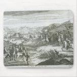 La batalla de Edgehill, el 23 de octubre de 1642 Alfombrillas De Ratones