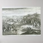 La batalla de Edgehill, el 23 de octubre de 1642 Póster