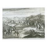 La batalla de Edgehill, el 23 de octubre de 1642 Tarjeta Postal