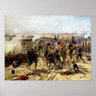 La batalla de Essling, mayo de 1809 Impresiones