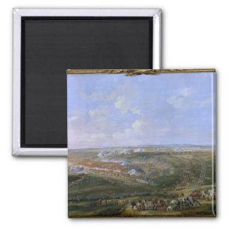 La batalla de Fontenoy, el 11 de mayo de 1745, 177 Imán Cuadrado
