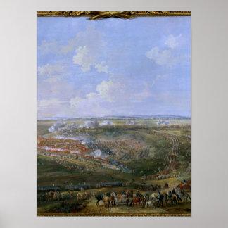 La batalla de Fontenoy, el 11 de mayo de 1745, 177 Póster