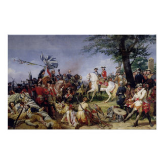 La batalla de Fontenoy, el 11 de mayo de 1745, 182 Poster