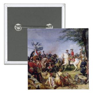 La batalla de Fontenoy, el 11 de mayo de 1745, 182 Pin Cuadrado