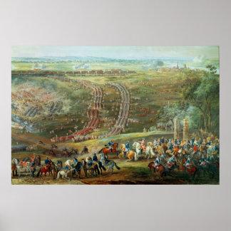 La batalla de Fontenoy, el 11 de mayo de 1745 Impresiones