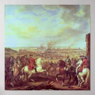 La batalla de Fontenoy, el 11 de mayo de 1745 Póster