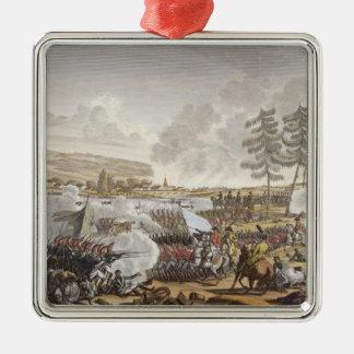 La batalla de Friedland, el 14 de junio de 1807, Adorno Cuadrado Plateado