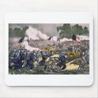 La batalla de Gettysburg PA 3 de julio D 1863 Tapete De Ratón