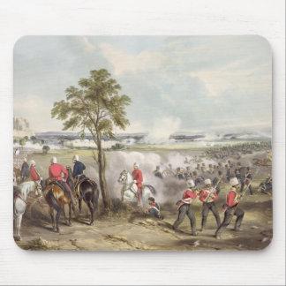 La batalla de Goojerat el 21 de febrero de 1849, e Mouse Pads