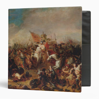 "La batalla de Hastings en 1066 Carpeta 1 1/2"""